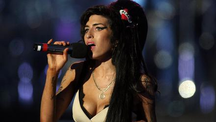 Amy Winehouse on stage in 2008. Photo: Dan Kitwood/Getty Images