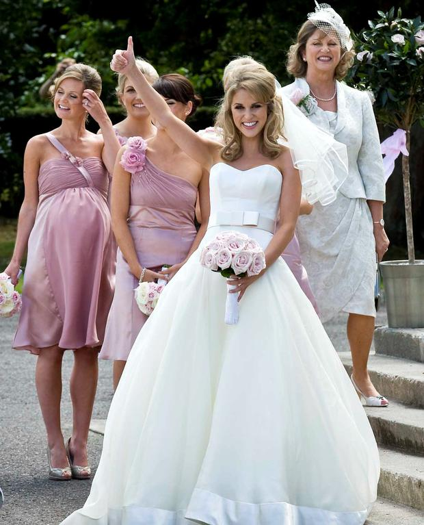 Five Years Later Amy Huberman S Wedding Dress Is Still