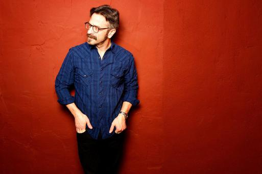 Stand-up guy: Marc Maron is back on the road and tee total after battling alcohol and drug addiction