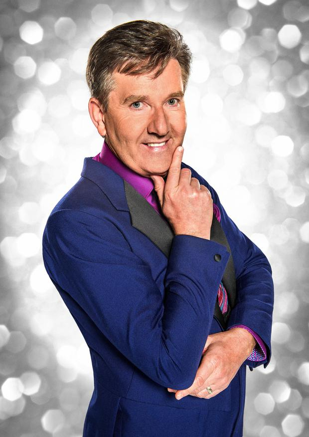 Twinkle toes: Daniel O'Donnell will compete on this year's Strictly Come Dancing