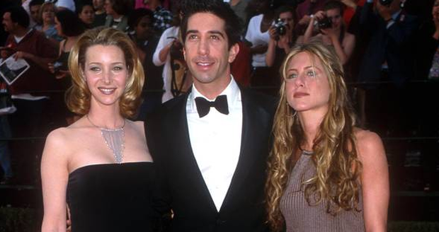 Back when Friends was at the height of its popularity. Jennifer Aniston hasn't changed a bit. Lisa Kudrow, David Schwimmer & Jennifer Aniston atteding the 6th Ann. SAG Awards in 2000. Photo by Brenda Chase Online USA Inc.