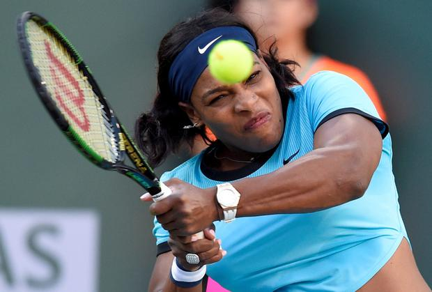 'Obviously I don't think any woman should be down on their knees thanking anybody like that': Serena Williams, currently the top ranked female tennis player, still earns less than more 'marketable' female players.
