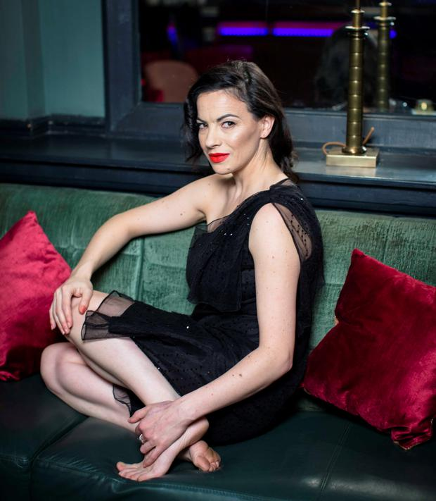 Camille O'Sullivan: 'I find performing a blessing and a curse'. Photo: Kip Carroll