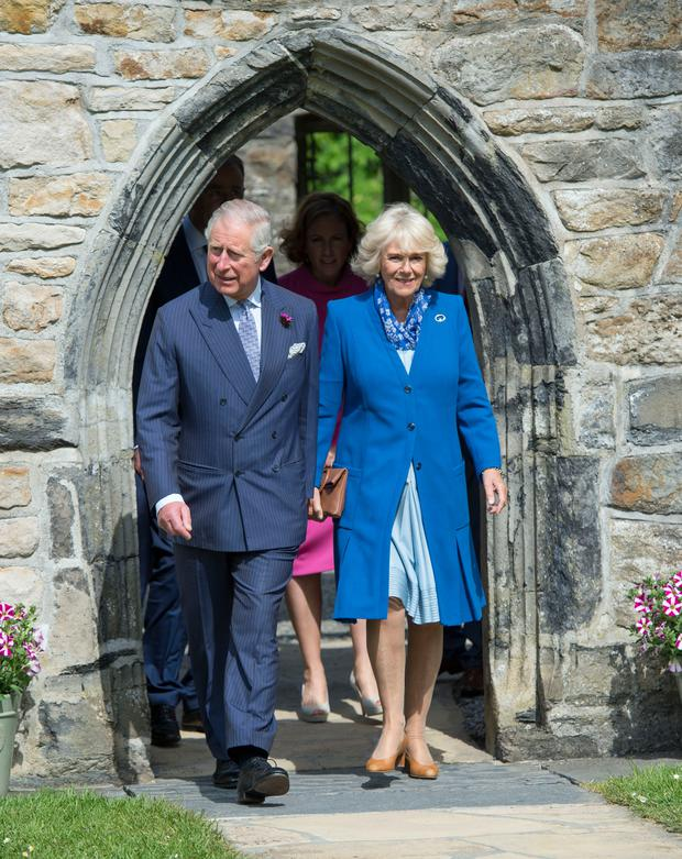Charles and Camilla on a trip to Ireland last year