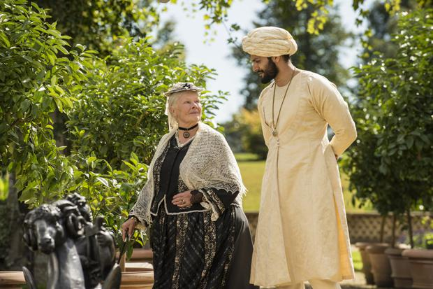 Race relations: Victoria and Abdul focuses on Queen Victoria's friendship with an Indian servant. Photo: © Focus Features