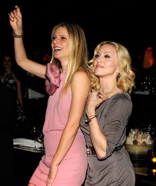 Gwyneth Paltrow and Madonna. Photo: Kevin Mazur/WireImage