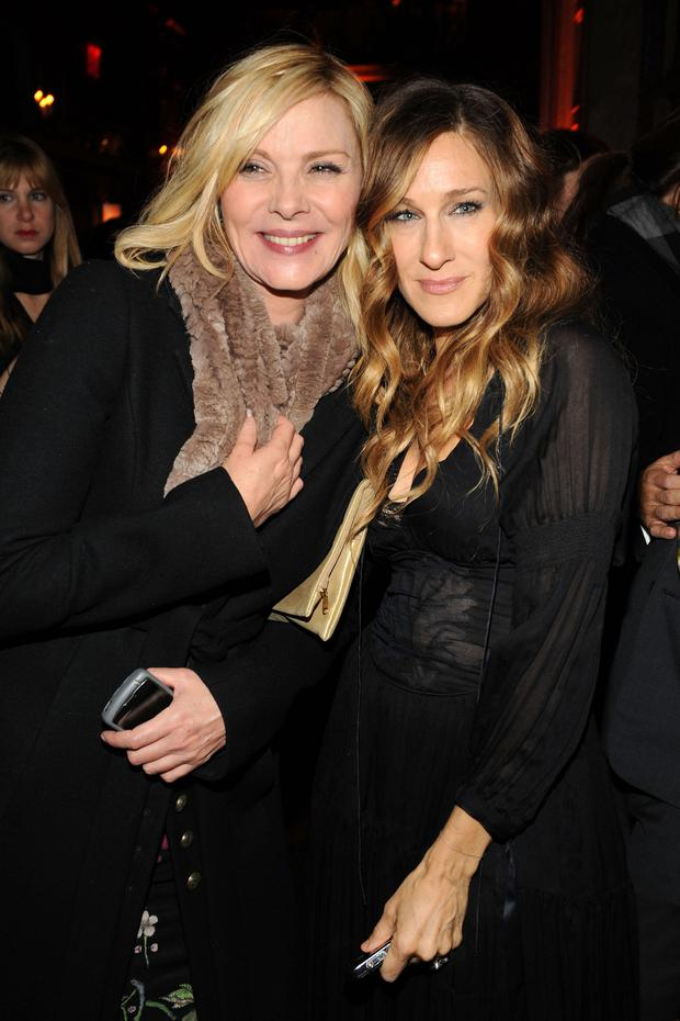 Mean girls: Kim Cattrall and Sarah Jessica Parker. Photo: Getty Images