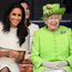 Fit for a Queen: Meghan Markle handled her first engagement with the Queen like a pro. Photo: Getty Images