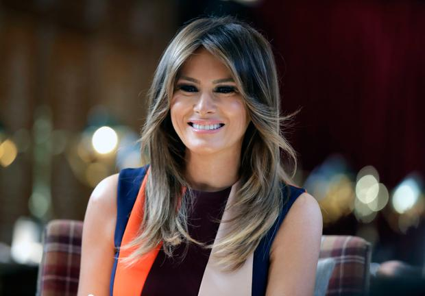 Rude awakening: Was the purpose of Melania's statement meant to soften Trump's tweet about LeBron James. Photo: AP