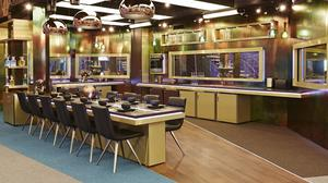 The kitchen in the re-modelled Big Brother House