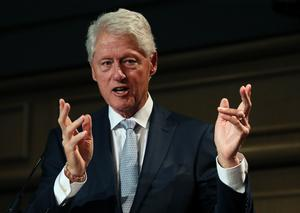 Bill Clinton (Brian Lawless/PA)