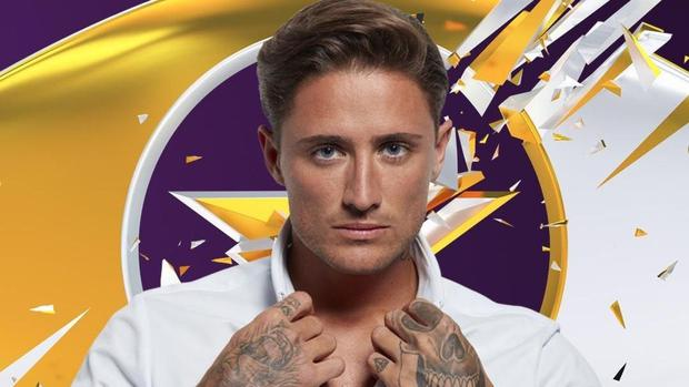 Stephen Bear is up for eviction.