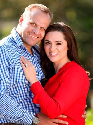 Leon Jordaan and Grainne Seoige. Photo: Gerry Mooney