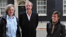 James May, Jeremy Clarkson and Richard Hammond present Top Gear