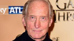 Charles Dance attending the world premiere of the fifth series of Game of Thrones at the Tower of London.