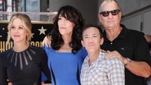 Katey Sagal was reunited with her Married... With Children co-stars at the Walk of Fame ceremony