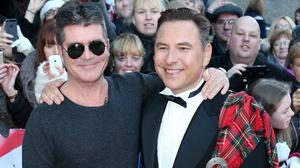 David Walliams, right, with Simon Cowell at the Britain's Got Talent auditions