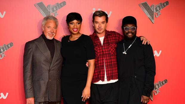 The Voice coaches Sir Tom Jones, Jennifer Hudson, Gavin Rossdale and Will.i.am