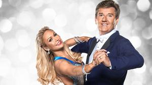Kristina Rihanoff with Strictly Come Dancing partner, singer Daniel O'Donnell