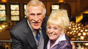 Barbara Windsor with knight of the realm Sir Bruce Forsyth