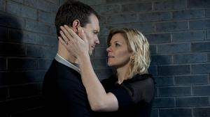Nick Tilsley (Ben Price) with Leanne Barlow (Jane Danson) in Coronation Street (ITV)