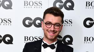 Sam Smith with the Ciroc Solo Artist Award at the 2015 GQ Men of the Year Awards at the Royal Opera House, London