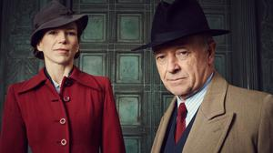 Honeysuckle Weeks and Michael Kitchen star in Foyle's War, which comes to an end this weekend