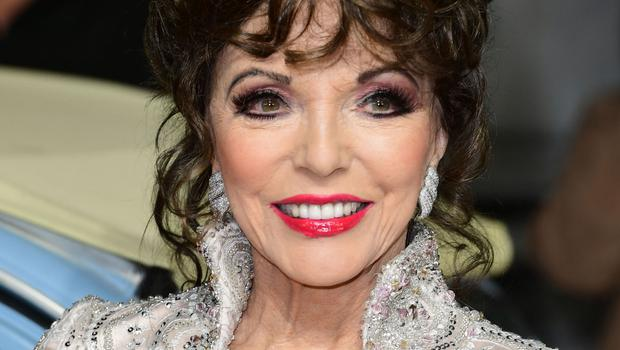 """Joan Collins insists she is only """"property rich"""" with four homes in London, New York, Los Angeles and St Tropez"""