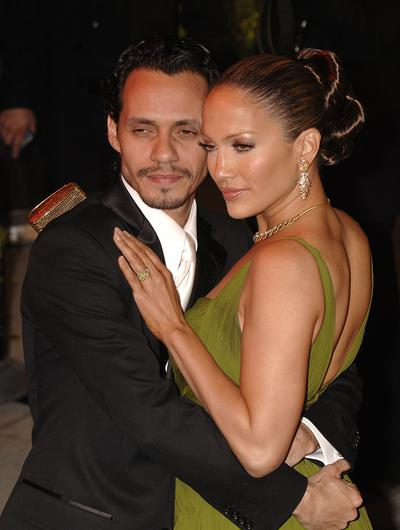Jennifer Lopez and Marc Anthony (Yui Mok/PA)