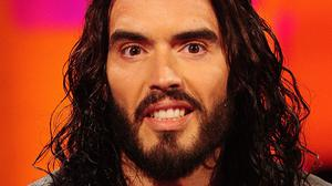 Russell Brand is not fazed by a new craze in which people respond to his rants with a line from Blur's Parklife