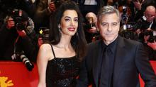 Amal and George Clooney are expecting twins (AP)