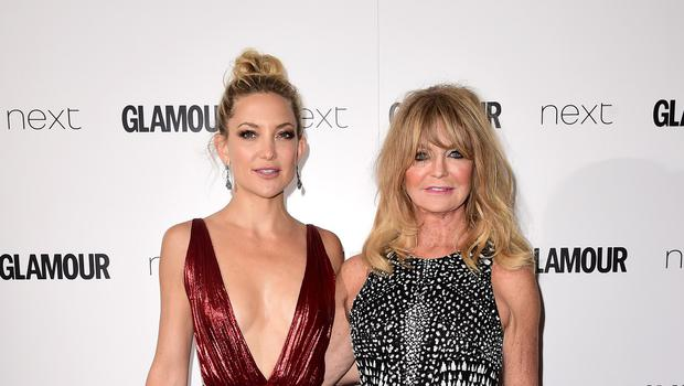 Kate Hudson and Goldie Hawn attending the Glamour Women of the Year Awards 2015