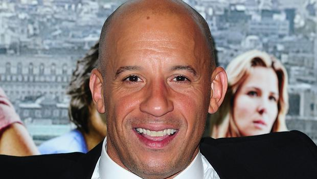 Vin Diesel is reunited in the action film with Michelle Rodriguez, Dwayne Johnson and Jason Statham
