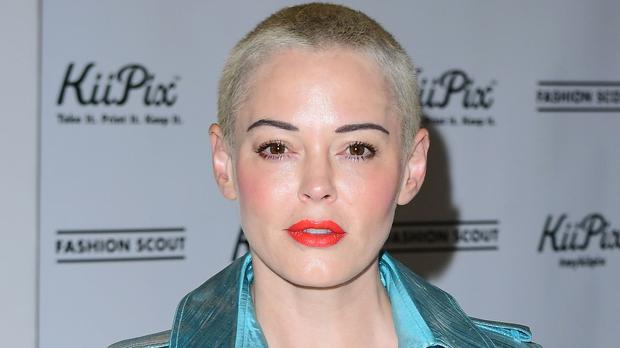 Rose McGowan spoke out over the 'Hollywood' attitude to short hair (Ian West/PA)