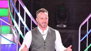 James Jordan leaves the Celebrity Big Brother House in Elstree Studios in Borehamwood, Herfordshire, after being evicted.