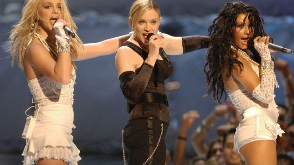 Britney and Madonna