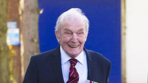 "George ""Johnny"" Johnson was part of the Royal Air Force 617 Squadron"