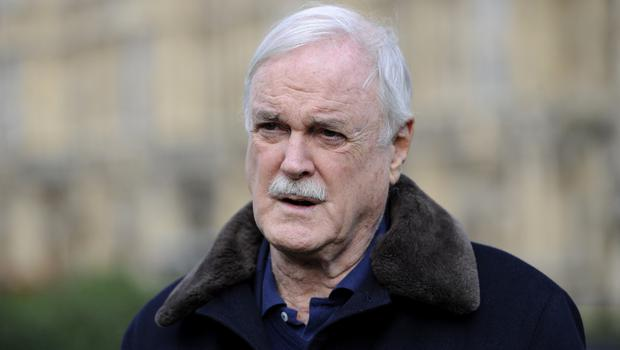 """John Cleese described his online war of words with Piers Morgan as """"a little bit of fencing"""""""