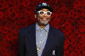 Spike Lee poses for a photo on the red carpet (Elijah Nouvelage/Invision/AP)