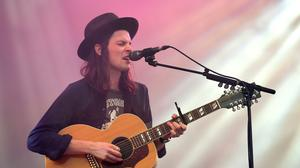 James Bay was forced to cancel his support slot on the last night of the festival