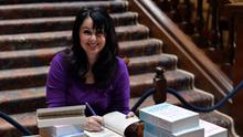 Author Marian Keyes said the only thing that helped in her 18-month depression battle was the passage of time