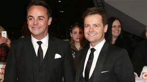 Anthony McPartlin and Declan Donnelly pushed their golden buzzer on the first day of Britain's Got Talent auditions