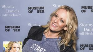 Stormy Daniels has lost a defamation case against Donald Trump (Charles Sykes/Invision/AP)
