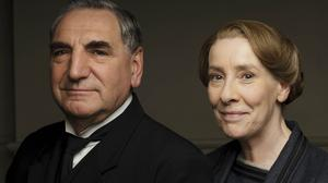 Jim Carter and Phyllis Logan star as Mr Carson and Mrs Hughes in Downton Abbey (ITV/PA)