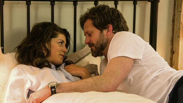 Rom-com: Aoibhinn McGinnity and Lochlann O Mearain in Poison Pen