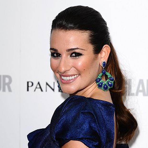 Lea Michele is feeling good after her holiday