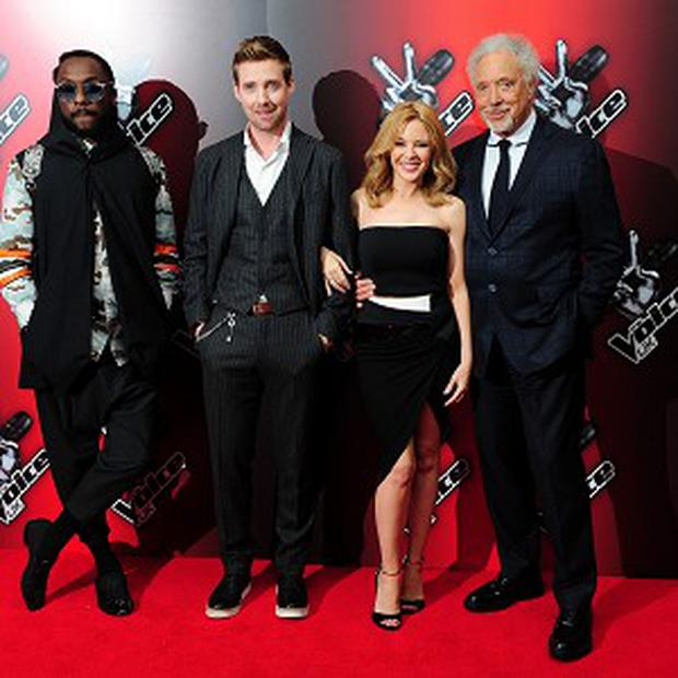 Ricky Wilson and Kylie Minogue will join Will.i.am and Sir Tom Jones in The Voice UK judges' chairs