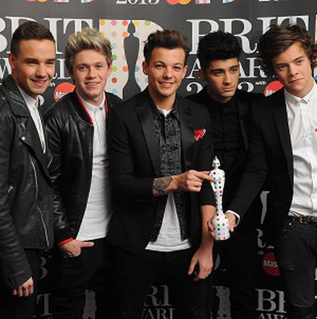 One Direction have made a list of the world's most influential people under 30
