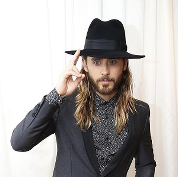 Jared Leto plays a transgendered Aids patient in Dallas Buyers Club