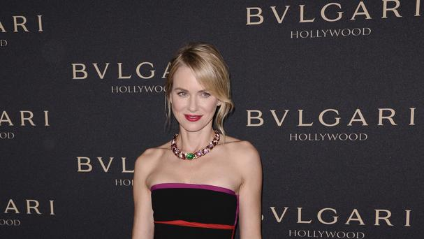 Naomi Watts can relax on Oscars night